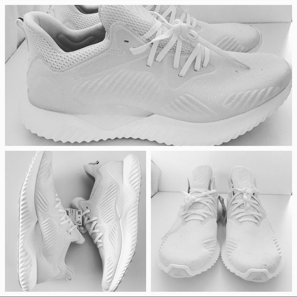 innovative design 61a3c b0829 Adidas AlphaBounce Beyond Non-Dyed Size 12 New